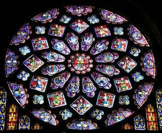 Chartres Nordfenster