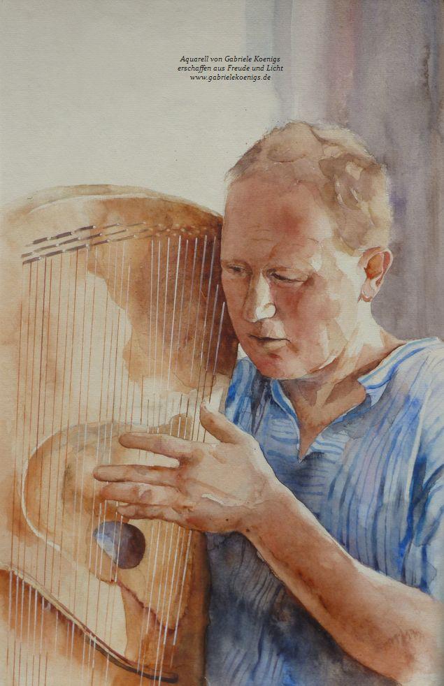 """""""Ganz Ohr"""" Portrait von Gabriele Königs"""