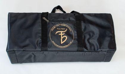 Tasche für Körpermonochord mit extra Fach für den Stimmschlüssel,u.ä.