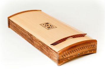 "Körpermonochord aus ""African Snakewood"""